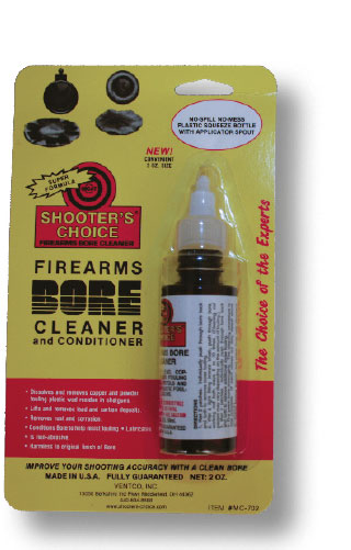 Shooter's Choice liuotinöljy 59ml bore cleaner