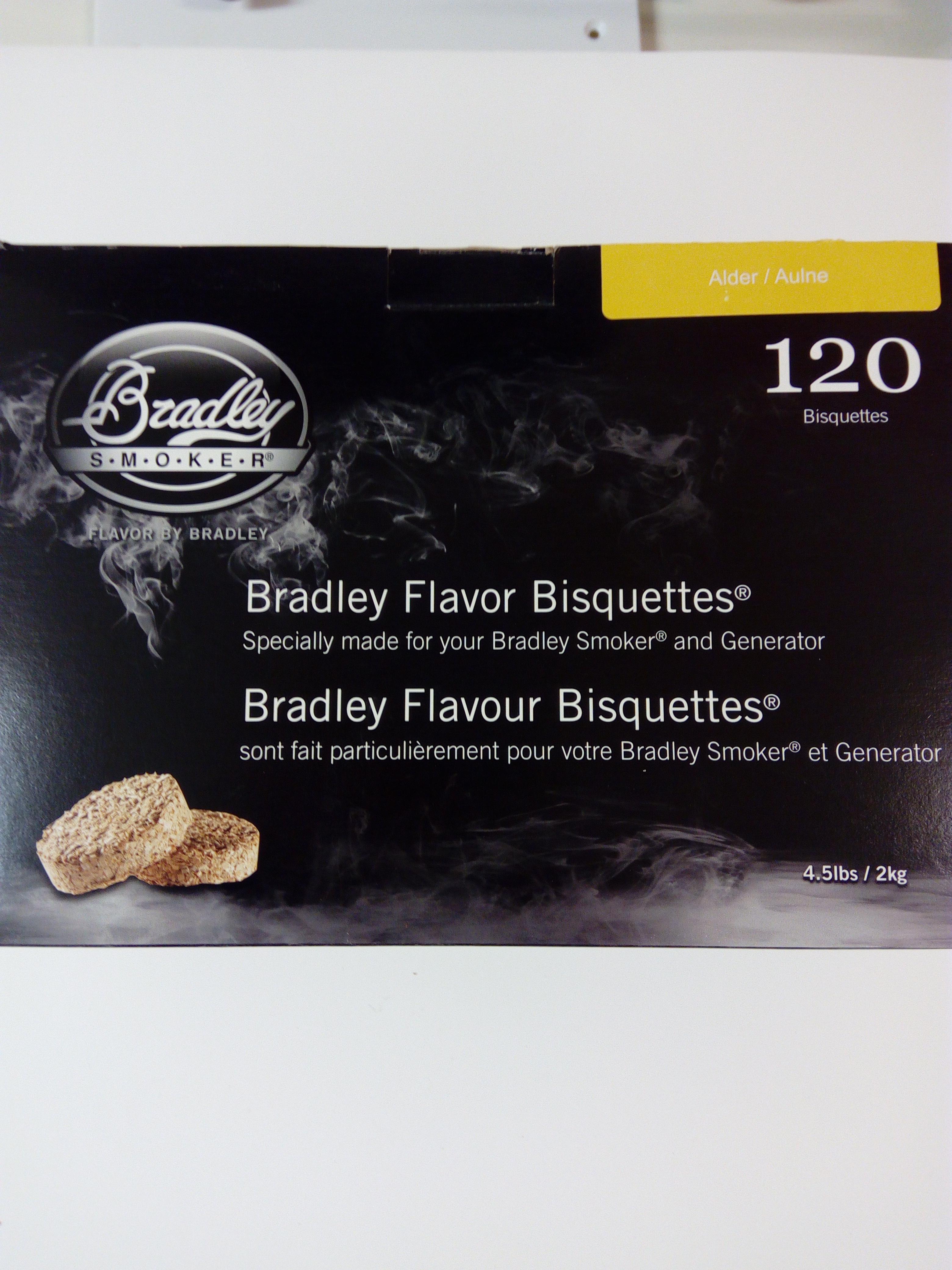 Bradley savustusbriketti Leppä (Alder) 120kpl/ltk