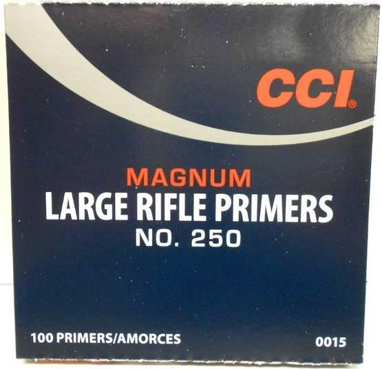 CCI nalli 250 LR  iso kiv.mag. nalli 100 kpl / rs