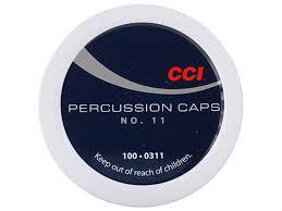 CCI nalli 11 mustaruutinalli     Percussion Caps