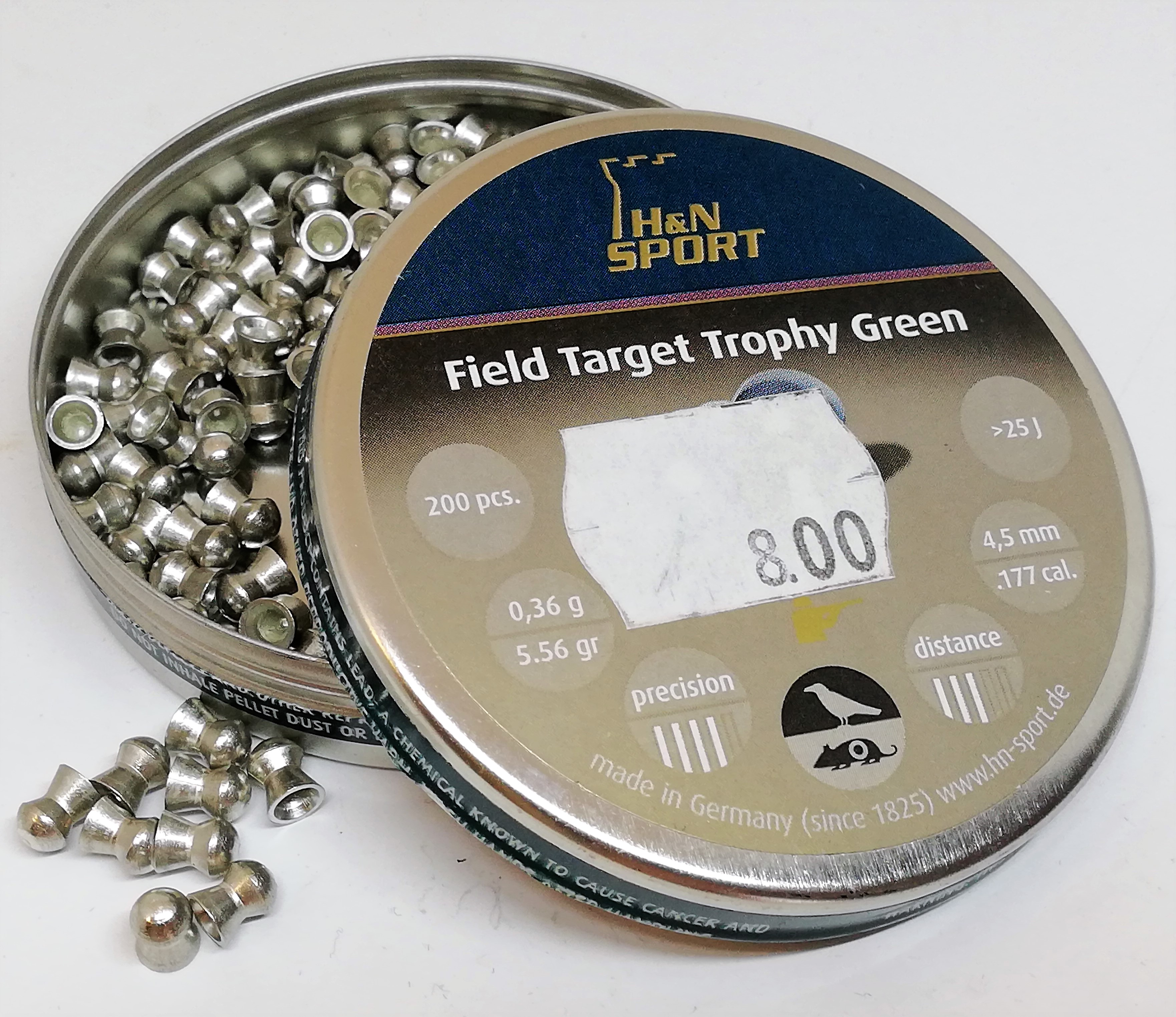 H&N Field Target Trophy Green 4,50mm