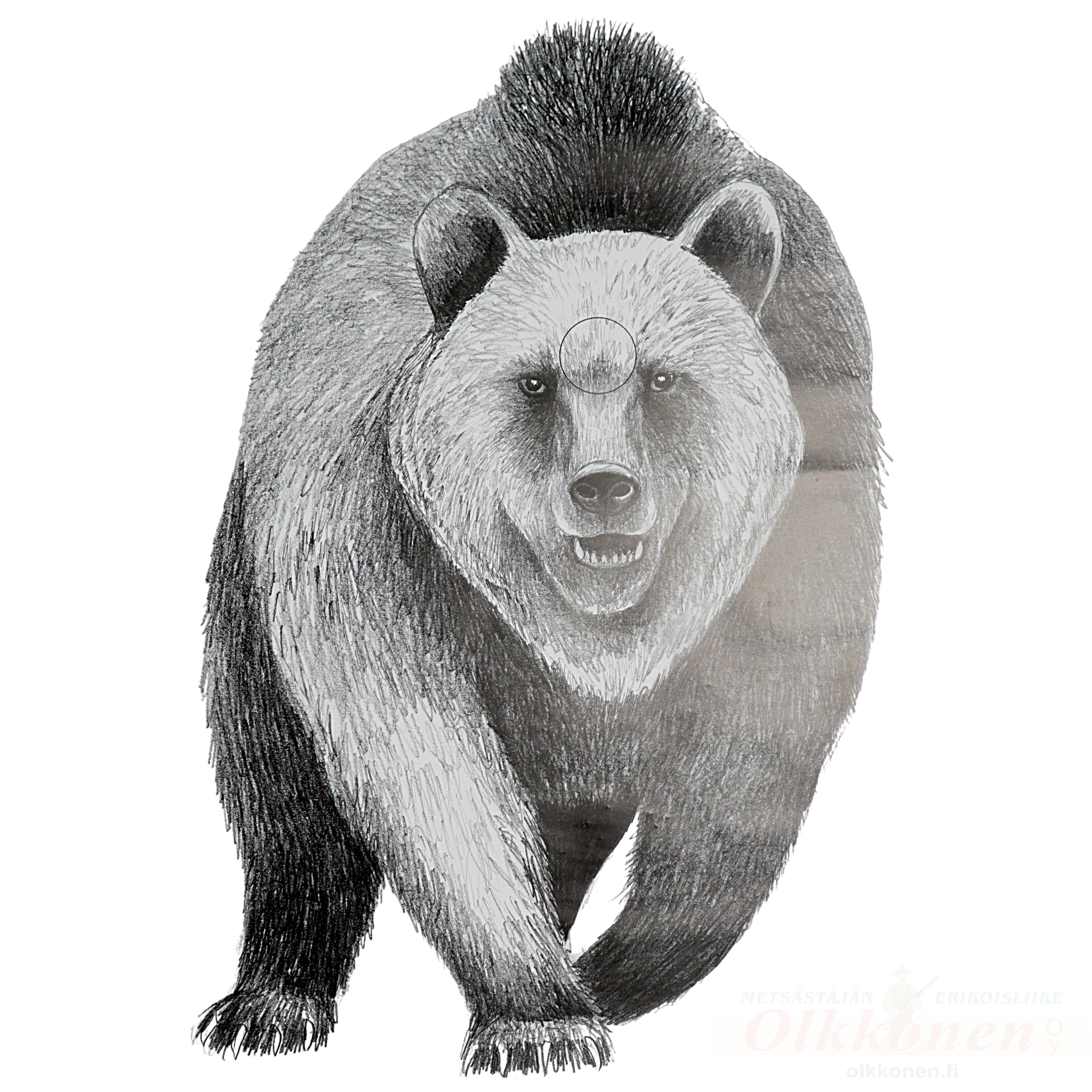 Karhukuviotaulu hyökkäävä