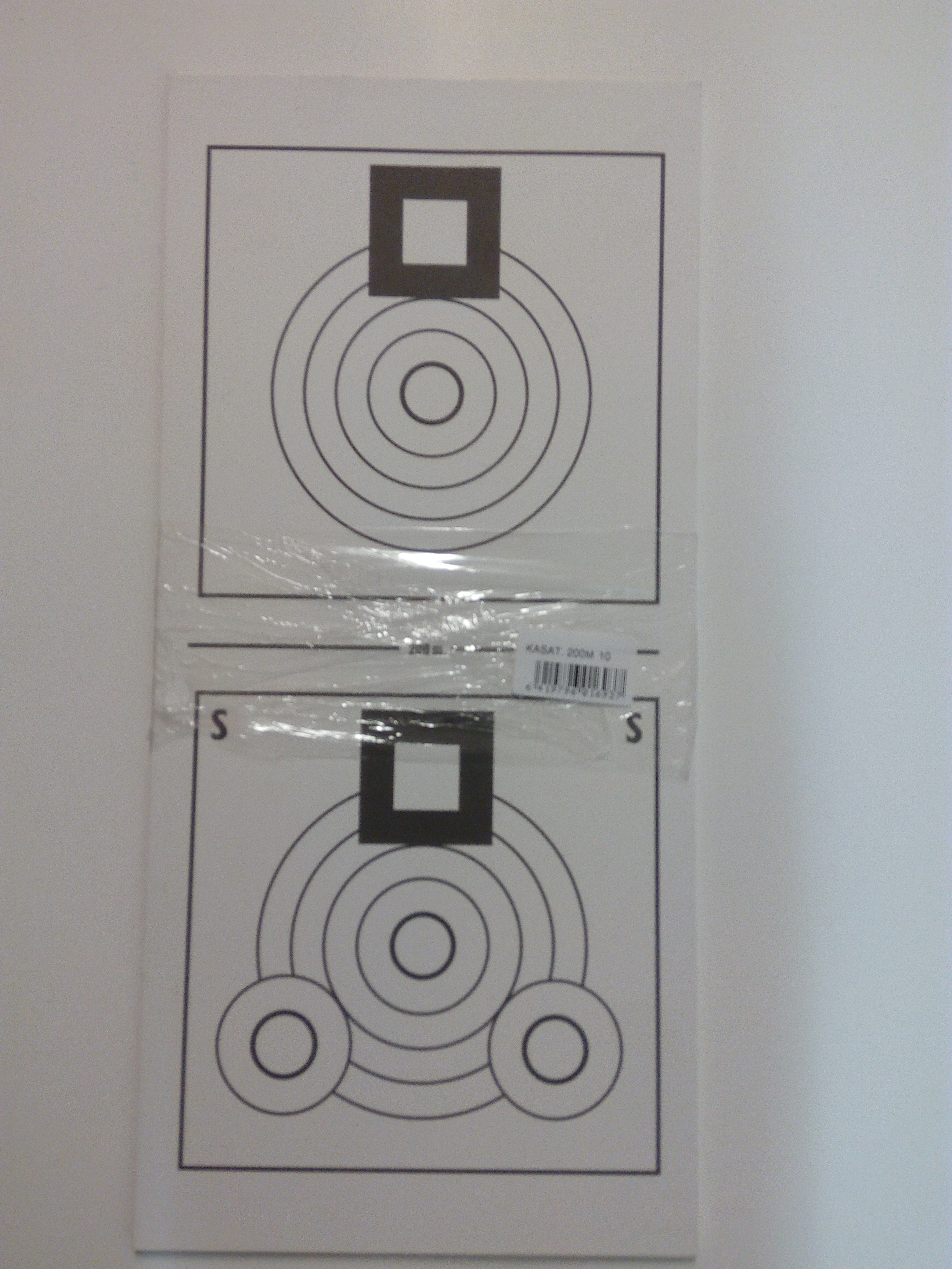 Kasa-ammuntataulu 200 m  10 kpl nippu