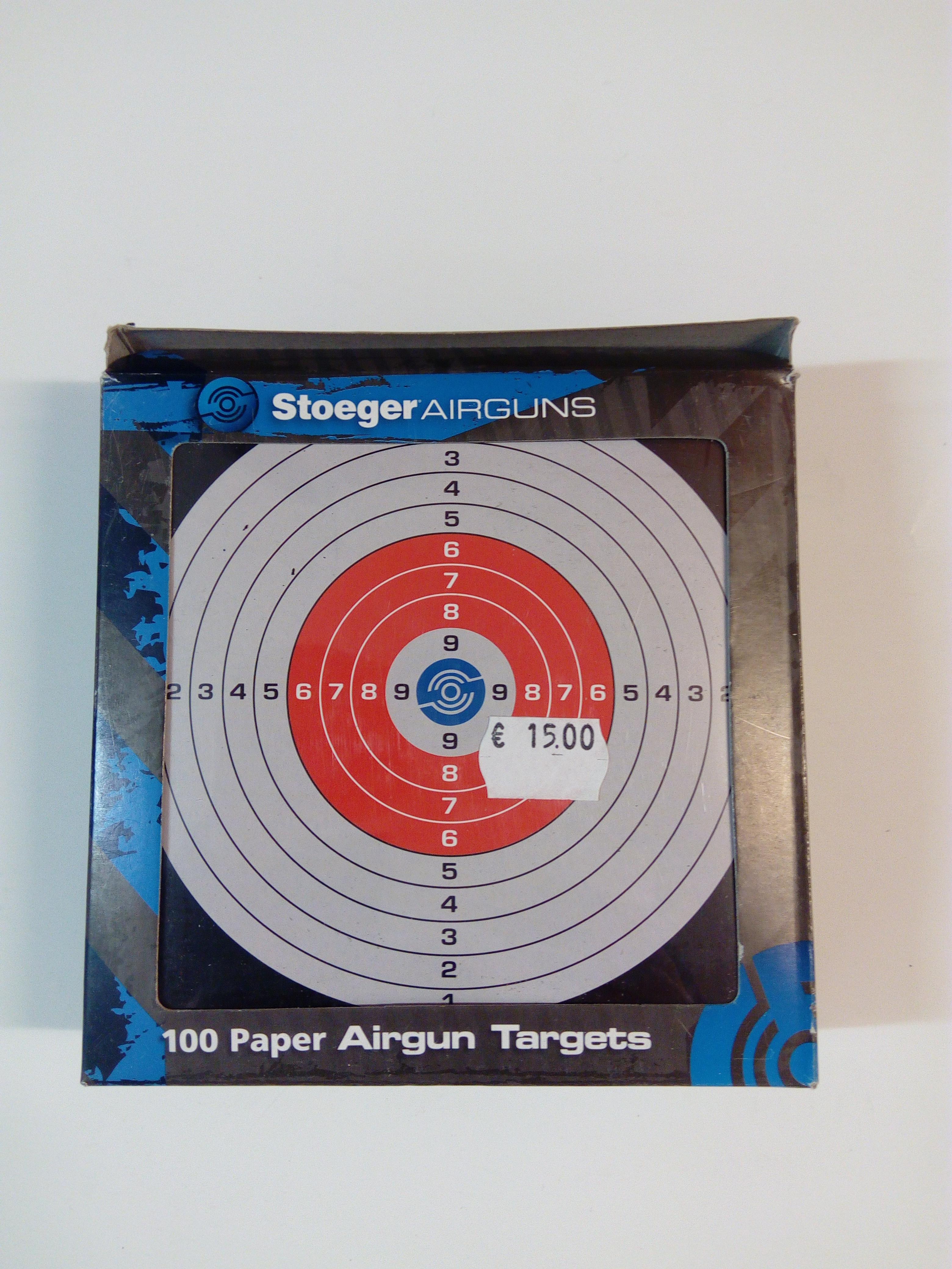 Stoeger ilmaasetaulu 100 kpl
