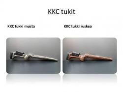 KKC tukki Sauer 202 Vasenkätinen musta