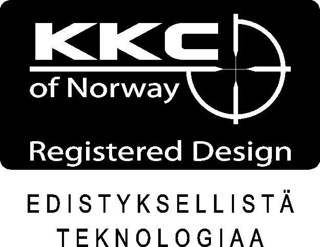 KKC tukki Tikka T3 vasenkätinen  musta