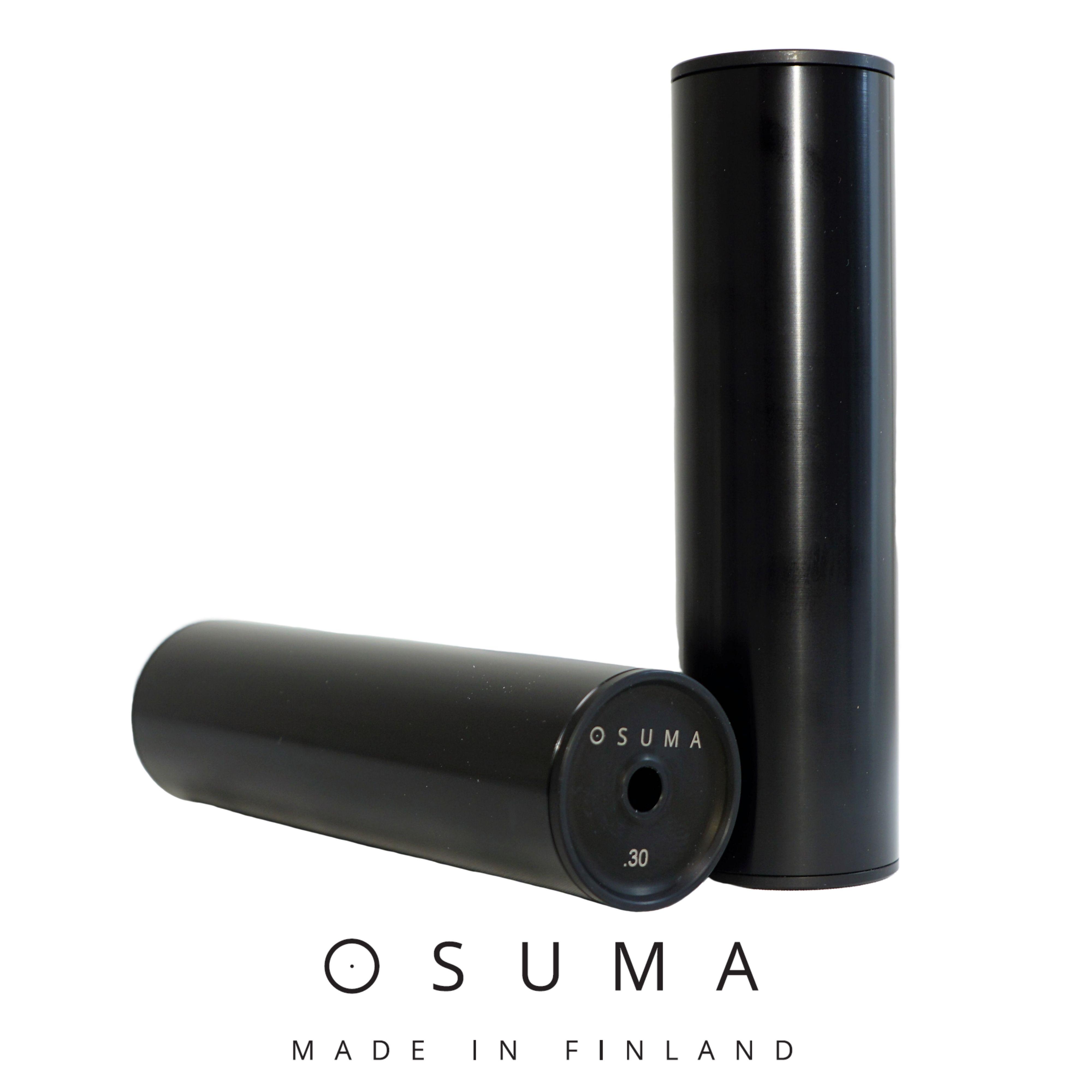 Osuma äänenvaimennin 170 6,5mm  15x1 Sako musta