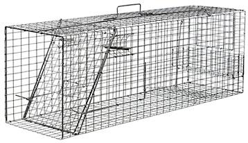 Supikoiranloukku (elävänä pyytävä)